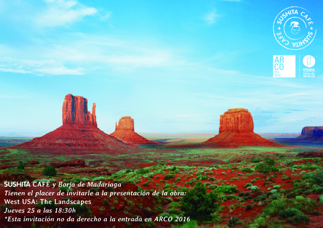 "Presentation in ARCO 2016, new serial ""West USA: The Landscapes"""